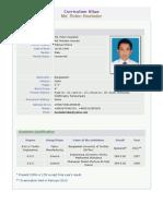 CV of Robin