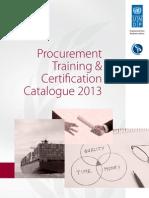 UNDP CIPS Procurement Training and Certification Programme