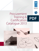 UNDP CIPS Procurement Training and Certification Programme