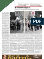 KOLUMNE Brüssel wird Versailles