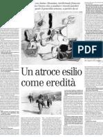 Il Genocidio Armeno, Le Parole Per Elaborare Un Trauma Collettivo - Il Manifesto 28.03.2013