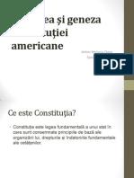Naşterea şi geneza Constituţiei americane