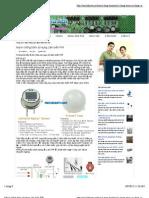 Mạch chống trộm sử dụng cảm biến PIR