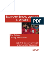 Exemplary School Libraries