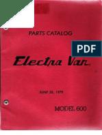 ElectraVan Parts Catalog
