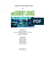 Amusement Lounge Business Plan
