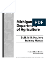 Milk Bulk Tank Training