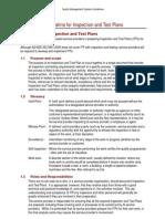 Qms Guidelines Appendix e Itp
