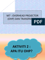 Overhead Projector (Ohp)