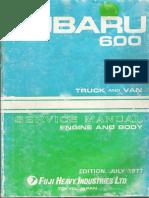 Subaru 600 Service Manual