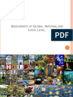 Biodiversity at Global Level