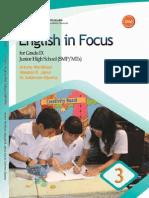 English in Focus SMP Kelas IX-Artono-2008