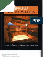 Applied Linear Algebra - Olver-Shakiban 0-13-147382-4