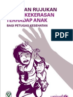Pedoman Rujukan Kasus Kekerasan terhadap anak Bagi Petugas Kesehatan