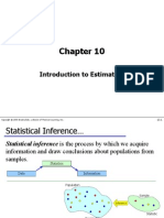 Chapter10-Introduction to Estimation