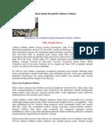 Modernisasi Dan Globalisasi Dalam Perspektif Anthony Giddens