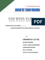 Paper 1 English Study Material Rajan