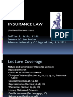 Lecture.commercialLaw.insurance