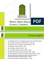Presentation of Tunisia Green Building Council - English version