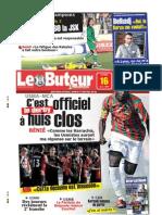LE BUTEUR PDF du 16/03/2009