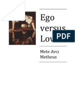 Ego Versus Love