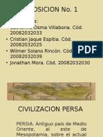 CIVILIZACION PERSA, Exposiciones humanidades II