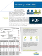 Description of the Progress Out of Poverty Index (PPI - Grameen Foundation)