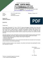 CONTOH Surat PKL