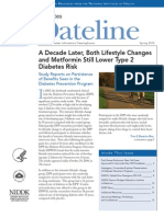 A Decade Later, Both Lifestyle Changes and Metformin Still Lower Type 2 Diabetes Risk