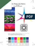 Printer Test Pattern