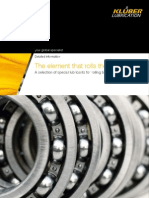 Special Lubricants for Rolling Bearings Selection