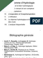 Document de Cours d'Hydrologie