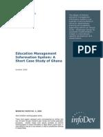 Working Paper 04 - EMIS Case Study Ghana