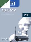 Rg54se II User Guide