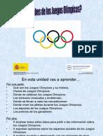 Qué Sabes de Los Juegos Olimpicos