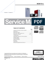 Philips Mcm119 Ver-1.0 Sm