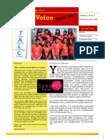 YALC Newsletter -Issue1,Volume1,February-June,2011