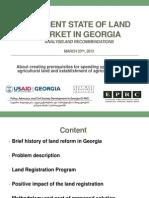 Lasha Dolidze - Land Market Reform - EPRC