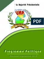 Programme de l'UMP