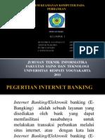 Materi Presentasi Keamanan Komputer Kelompok 1 Sistem Keamanan Komputer Di Bank