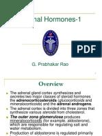 Adrenal Hormones -1