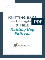 9 Free Bag Knitting Patterns