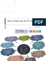 How to Save Tax for FY 2013-14 (AY 2014-15)