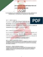 Resumen de Mejoras Plataforma Cgt Bomberos Forestales Clm.