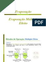 Evaporação Múltiplo Efeito Teoria e Exemplo [Modo de Compatibilidade]