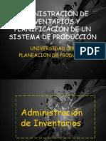Expo Sic Ion de Planeacion de La Produccion e Inventarios