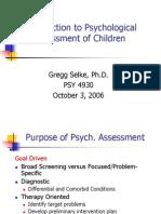 Child Psych Assessment