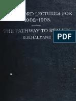 Haldane  The Pathway to Reality 1905 p.344