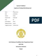 Laporan Praktikum OR01- Pengukuran Panjang Gelombang
