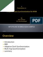 Adaptive Clock Sync